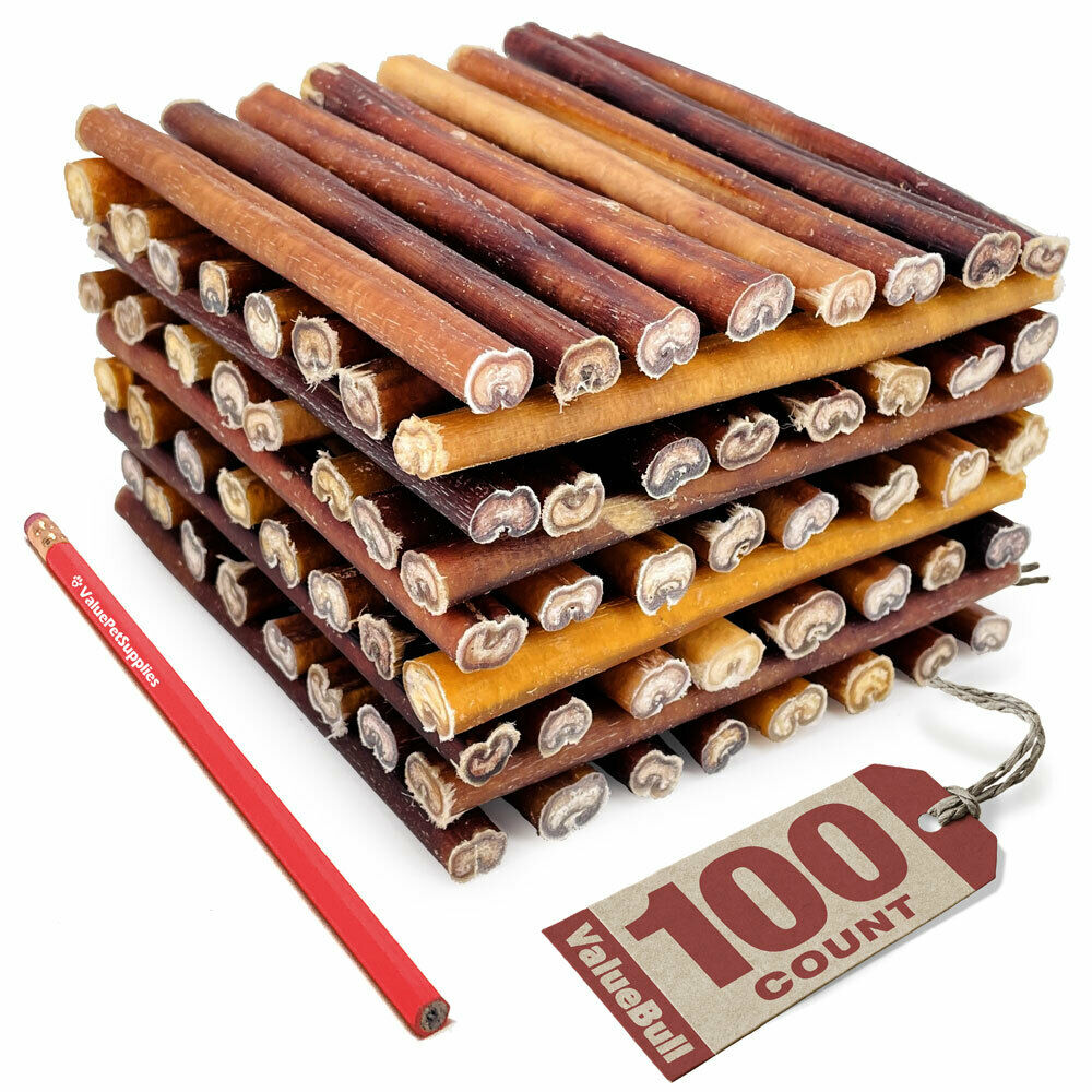 valuebull 100 all natural 6 inch medium bully sticks ebay. Black Bedroom Furniture Sets. Home Design Ideas