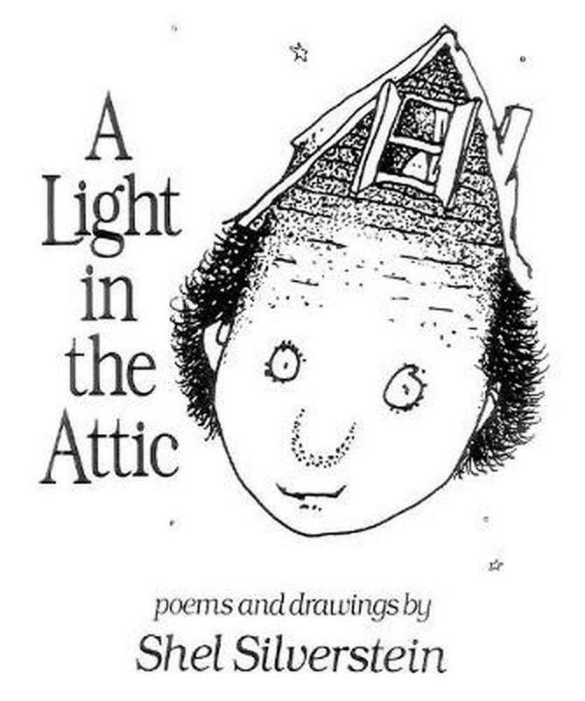 A Light In The Attic By Shel Silverstein Hardcover Book