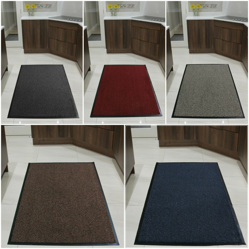 Large Small Kitchen Heavy Duty Barrier Mat Non Slip Rubber