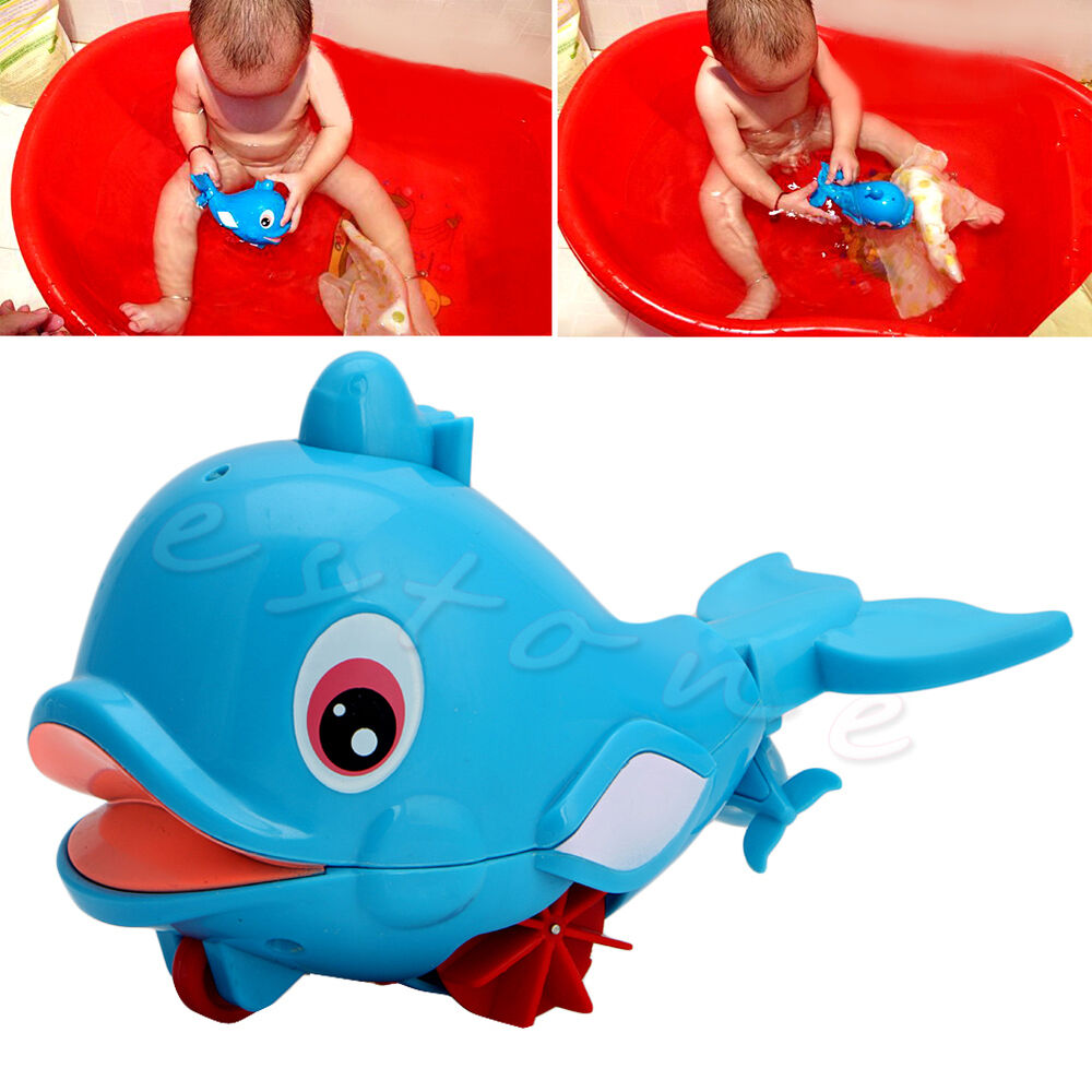 Toys For Water : New hot whale squirting baby bathing toy water play