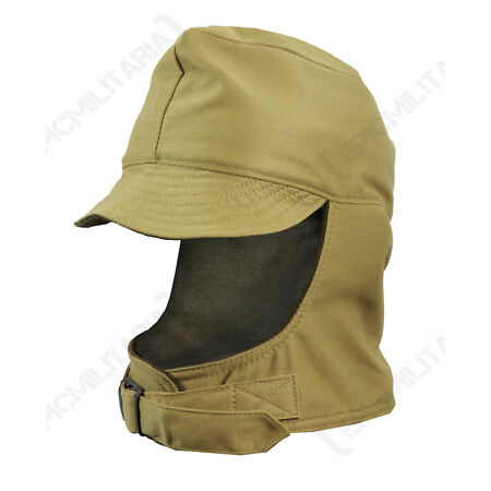 img-US Army GI WINTER CAP All Sizes Wool Lining Cold Weather Military Hat WW2 Repro