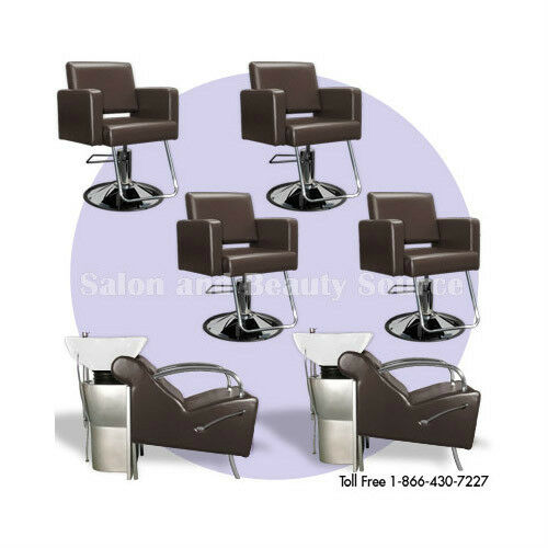 New salon spa package backwash styling chairs equipment ebay for Salon spa equipment