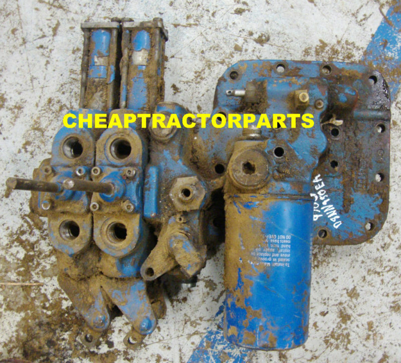 Ford 8600 Tractor Pto Assembly For : Ford tractor hydraulic remote  ebay