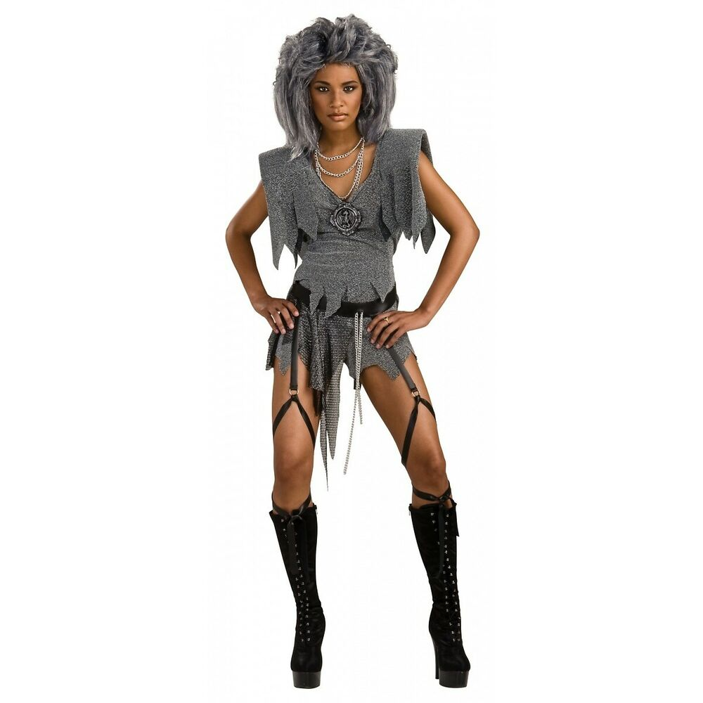 Mad Max Costume Adult Aunty Entity Tina Turner 80s ...