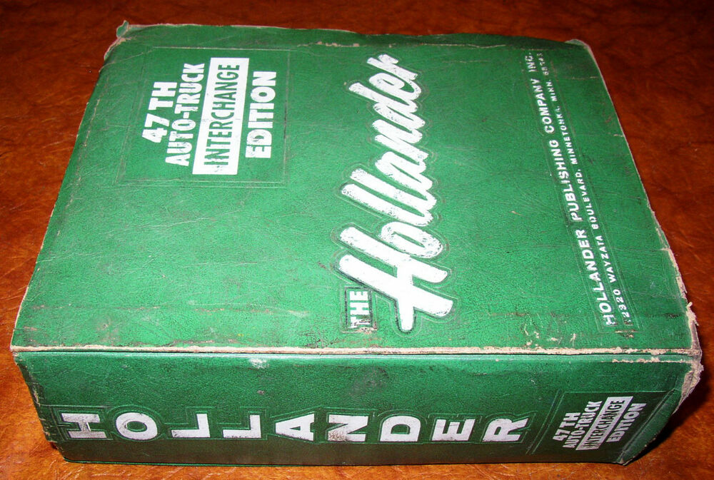 Auto Parts Interchange >> Hollander Parts Interchange Manual 69 70 71 73 74 75 GS GTO GTX CHARGER 442 SS | eBay