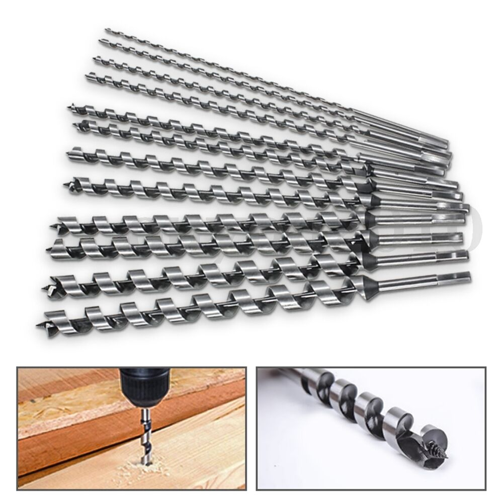 460mm Long 6 28mm Auger Drill Bits High Carbon Steel