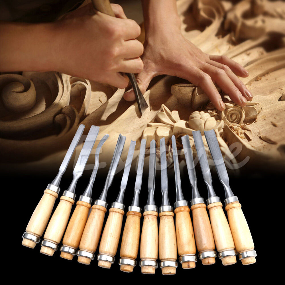 Pcs wood carving hand chisel set woodworking