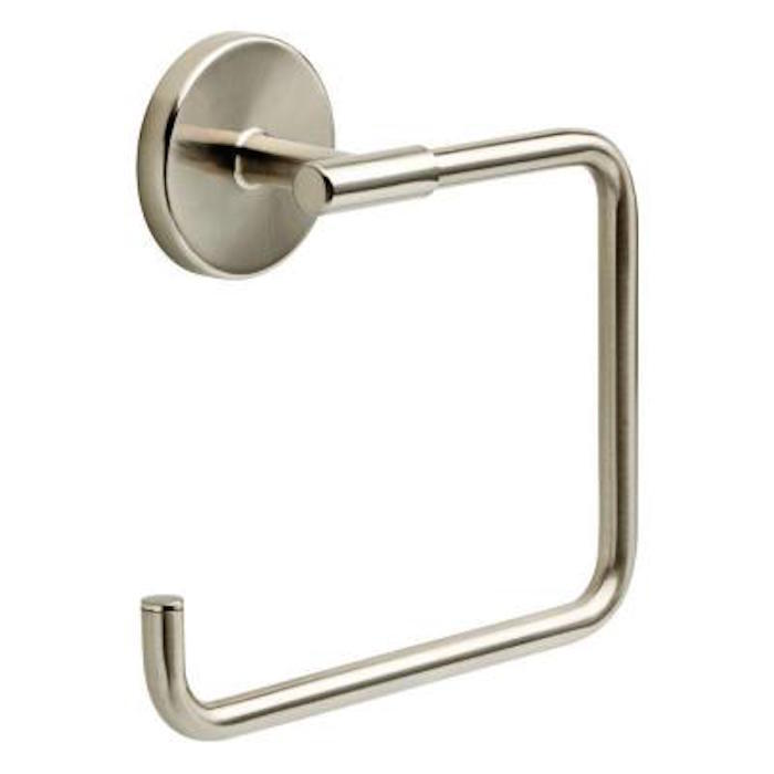 Ldl46 Sn Lyndall Towel Ring Bath Accessories Satin Nickel Ebay