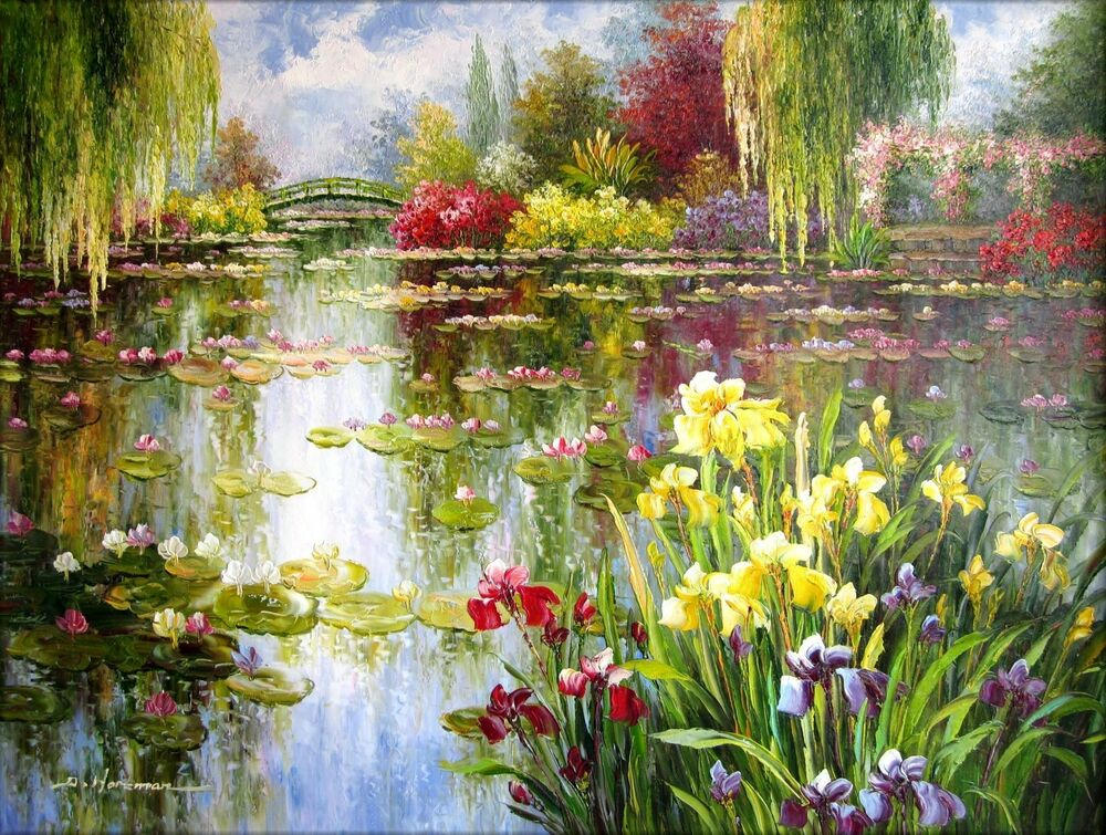 List Of Monet Paintings With Pictures