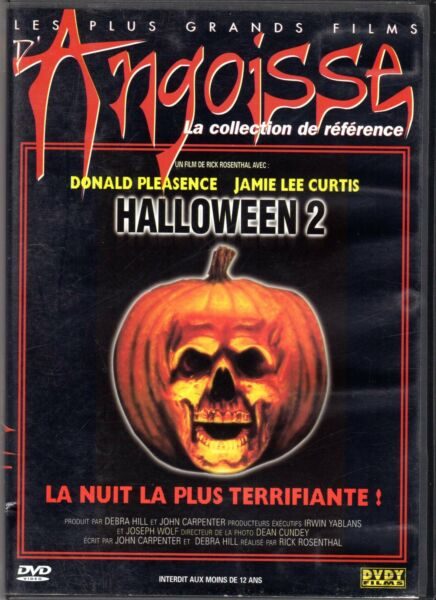 HALLOWEEN 2 DONALD PLEASENCE JAMIE LEE CURTIS