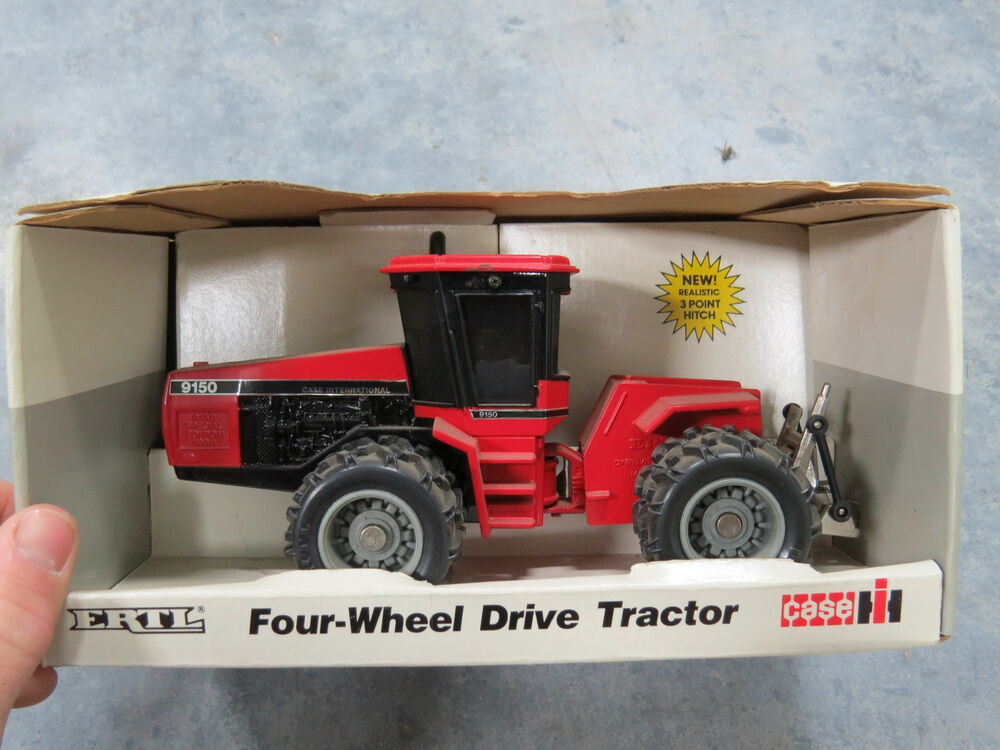 Case Tractors Four Wheel Drive : Case international ih wd four wheel drive toy