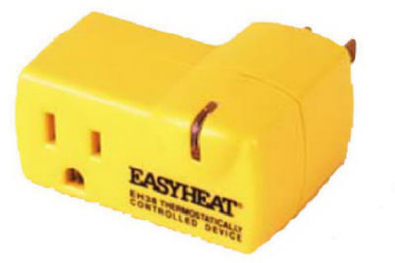 Easy Heat Eh 38 Plug In Electric 120v Automatic Thermostat