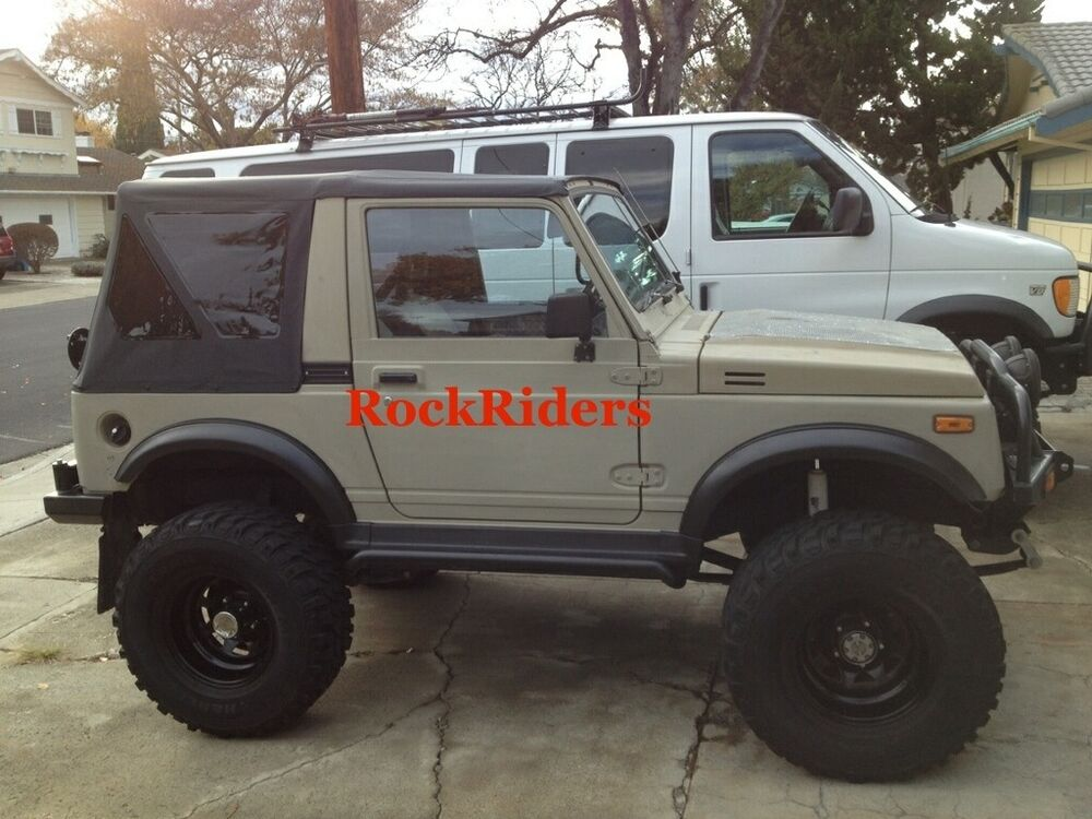 1986 1994 suzuki samurai replacement soft top with tinted. Black Bedroom Furniture Sets. Home Design Ideas