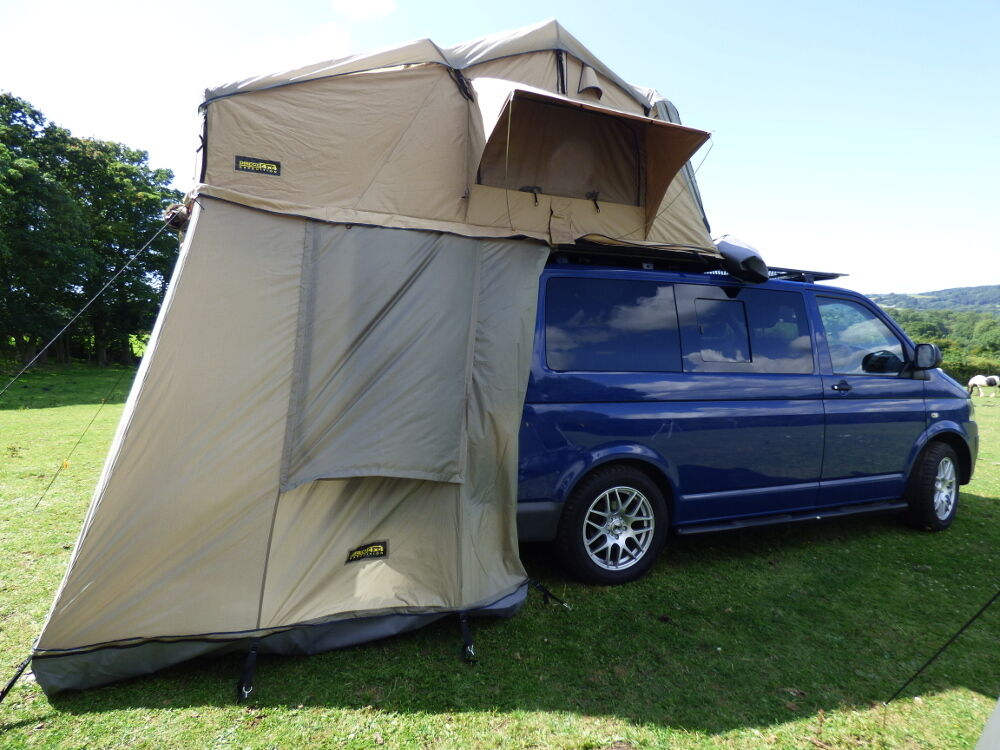 VW T5 Transporter 3 Man Expedition Roof Tent Pop Up Boxed ...