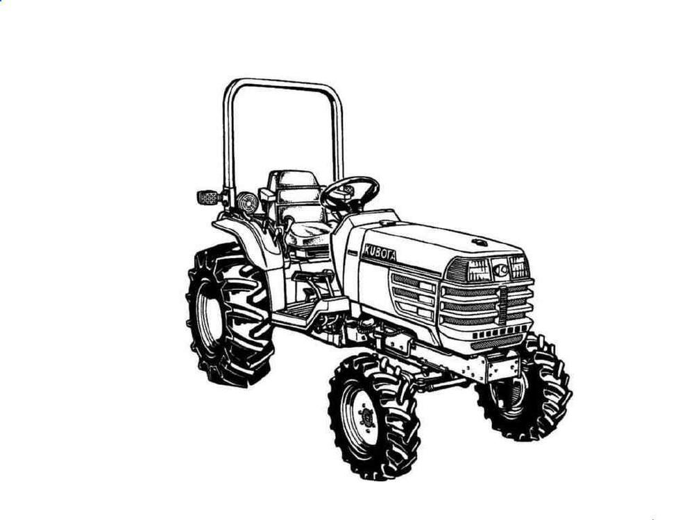 kubota b7100 diagram