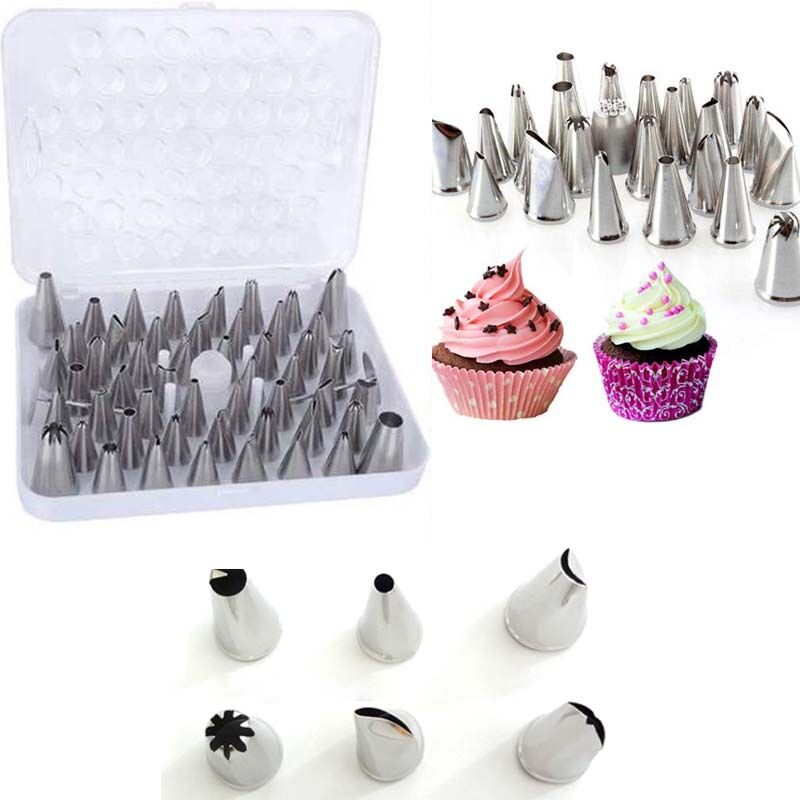 24 52pcs set icing piping nozzles pastry tips cake decorating