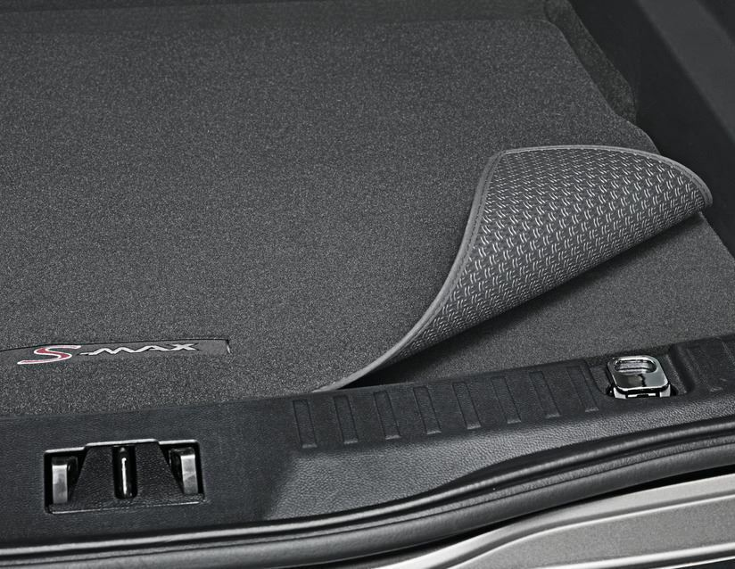 New Ford Focus >> Ford S-Max 2015> Luggage / Boot Mat, Black, With S-Max Logo - 7 Seater 1904536 | eBay