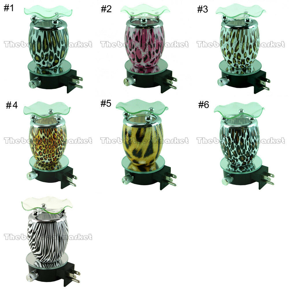 Plug In Diffuser : Animal print essential oil diffuser wall plug in fragrance