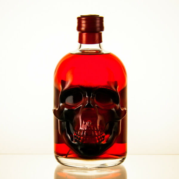 Red Chili Head Absinthe - LIMITED EDITION - Airbrush-Veredelt - 0,5l - 55%vol.
