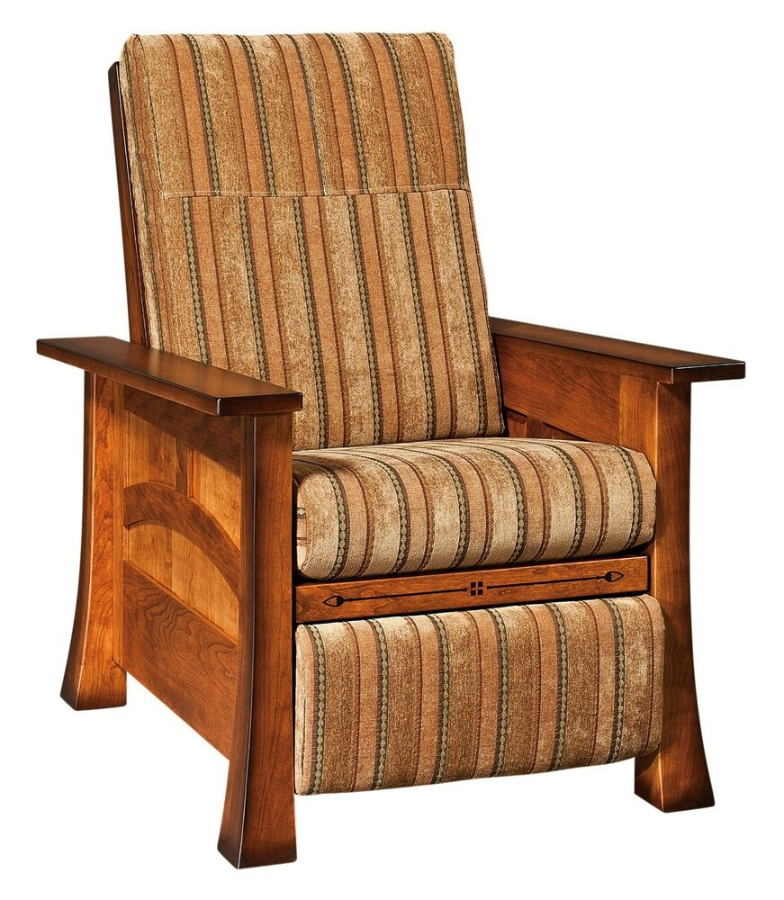 Amish Mission Brady Recliner Accent Chair Wall Hugger