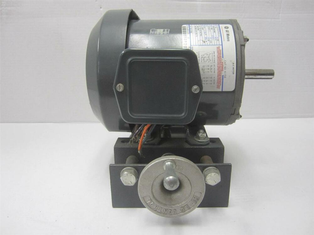 Ge Motors And Controls General Purpose Electric Motor K158 1725 Rpm 1 2 Hp 5hp Ebay