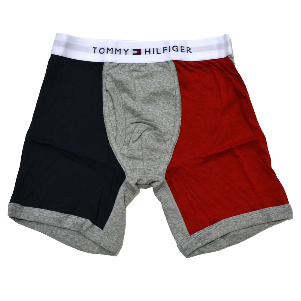 nwt tommy hilfiger 1 athletic color block boxer brief. Black Bedroom Furniture Sets. Home Design Ideas