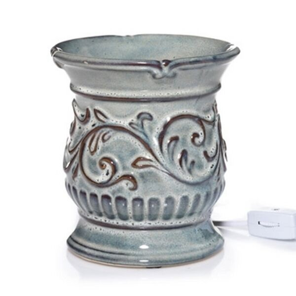 Electric Wax Tart Burners ~ New yankee candle antique teal blue electric tart warmer