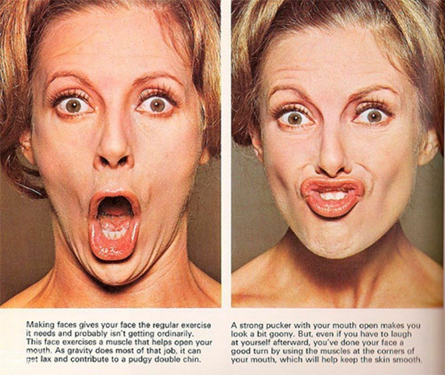 Details about Non Surgical Facial Face Yoga Exercise Lips Mouth V Shape  Chin Cheek Slimming