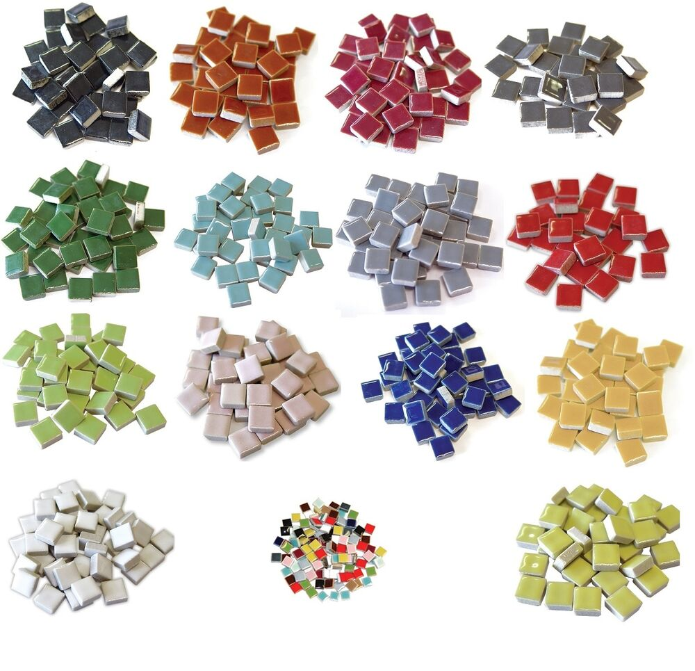 3 8 ceramic tiles 16 oz bulk 500 pcs choice of color