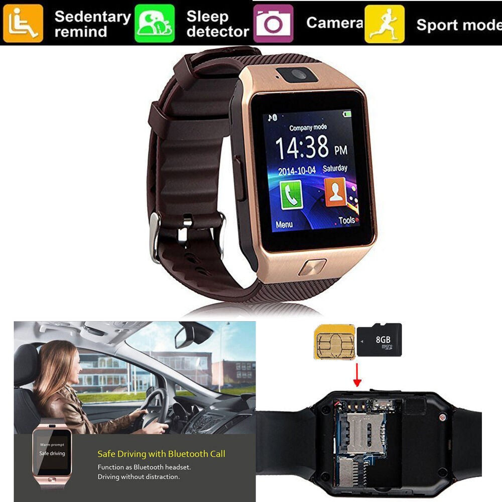 Bluetooth Smart Watch For All Android Phone Samsung Galaxy ...