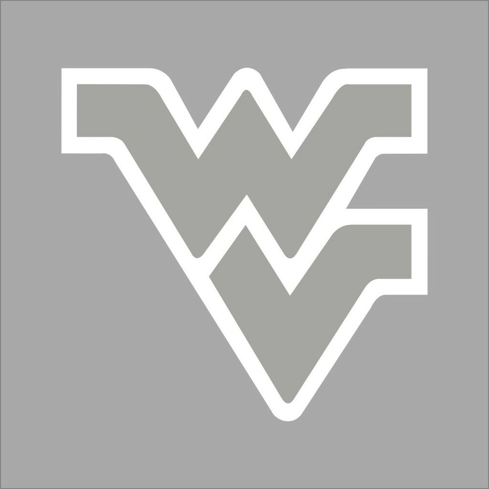 West Virginia Mountaineers College Logo 1C Vinyl Decal ...