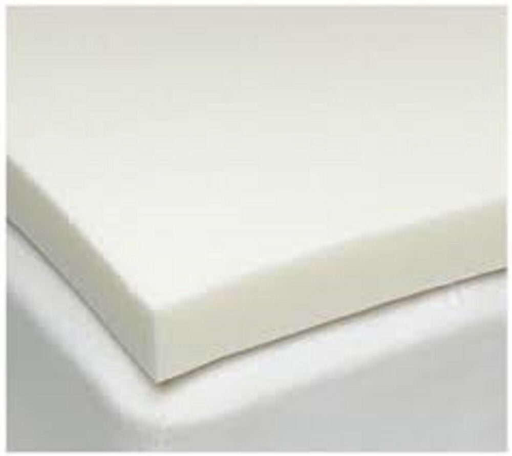 100 memory foam mattress topper available in all sizes and depths 1 2 3 4 ebay. Black Bedroom Furniture Sets. Home Design Ideas