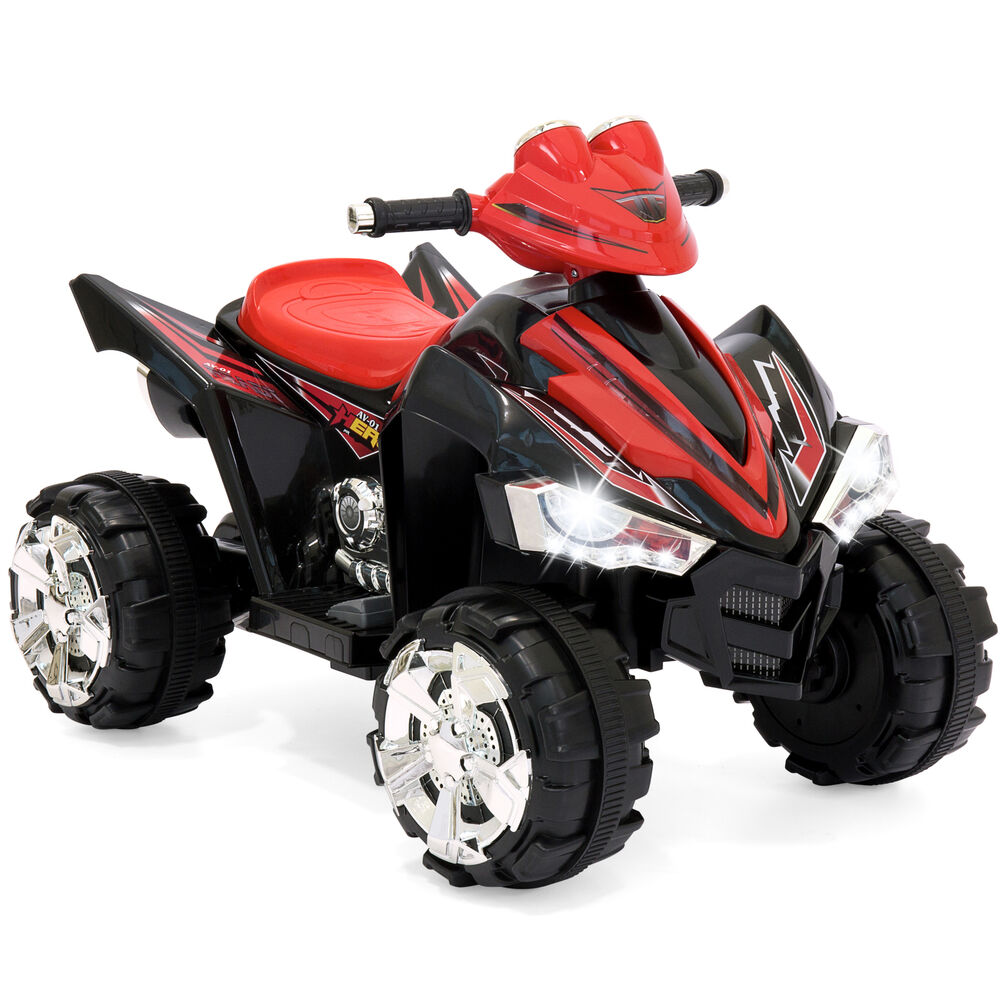 Toy 4 Wheelers For 8 Year Old Boys : Bcp v kids electric atv ride on toy w speeds led