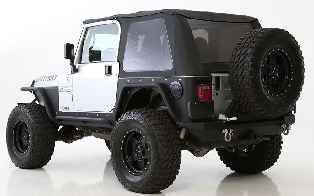 1997 2006 Jeep Wrangler Bowless Frameless Soft Top With
