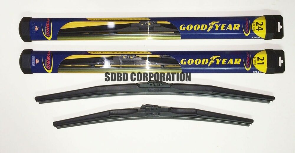 Goodyear Windshield Wipers >> 2007-2014 GMC Acadia Goodyear Hybrid Style Wiper Blade Set ...