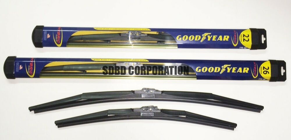 2008 2014 toyota sequoia goodyear hybrid style wiper blade. Black Bedroom Furniture Sets. Home Design Ideas