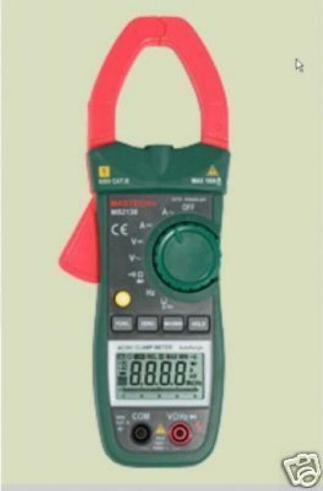Voltage Clamp Meter : Mastec ms ac dc clamp meter current voltage ampere ebay