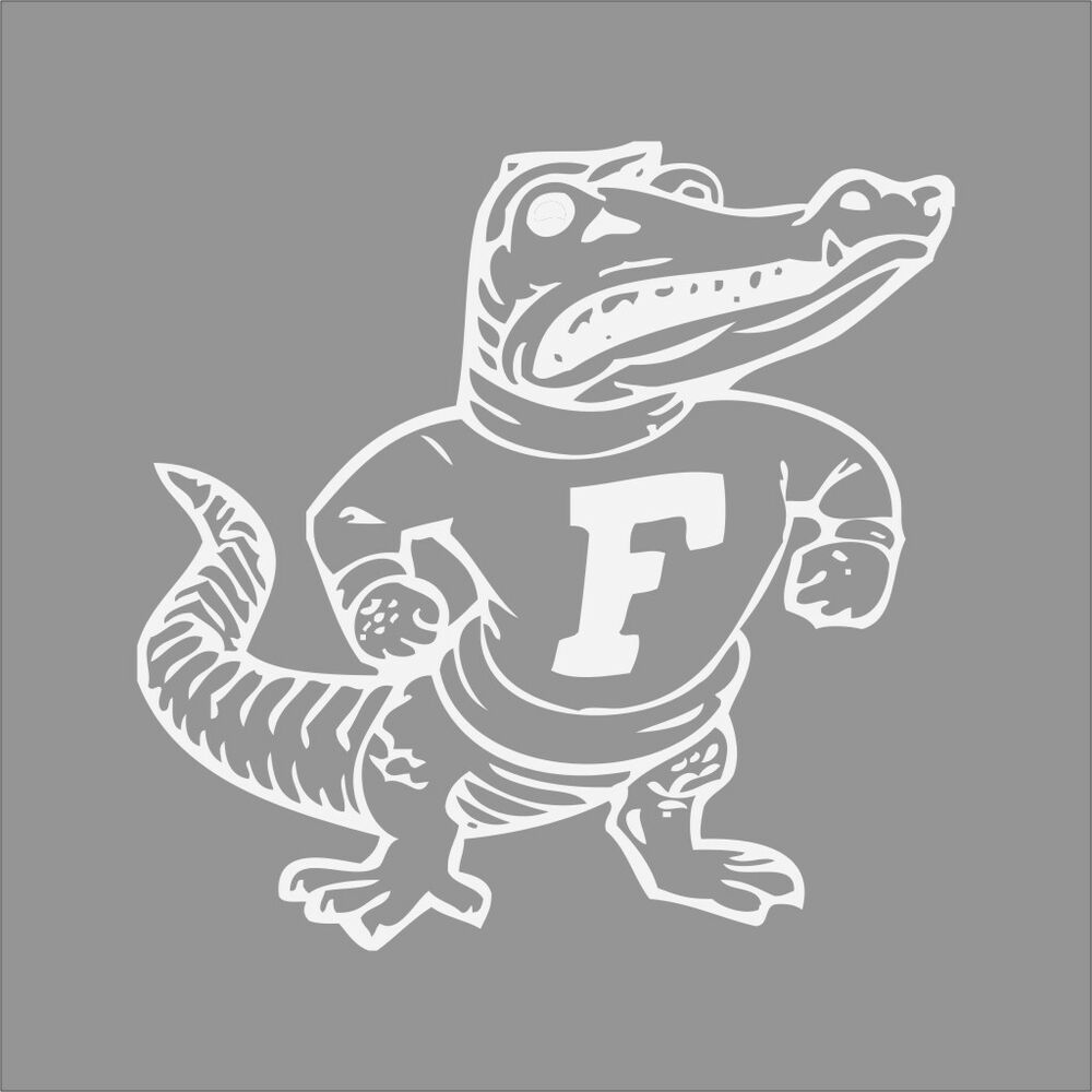 Florida Gator Stickers : Florida gators college logo c vinyl decal sticker car