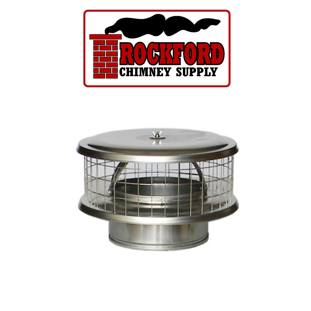 Weathershield stainless steel chimney cap wsa for solid