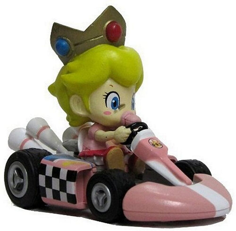 nintendo mario kart wii pull back action toy race car 3. Black Bedroom Furniture Sets. Home Design Ideas