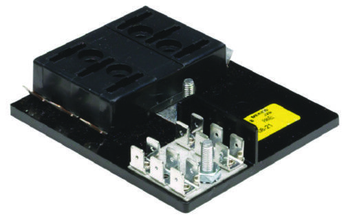 boat marine electrical ato atc 6 gang fuse block with. Black Bedroom Furniture Sets. Home Design Ideas