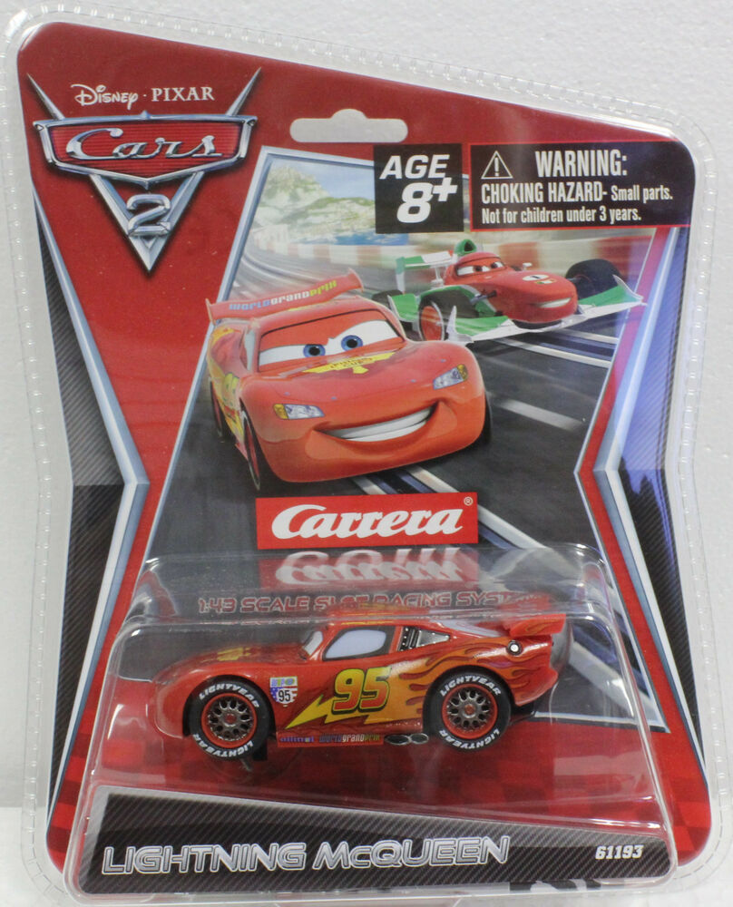 Lightning mcqueen slot car set