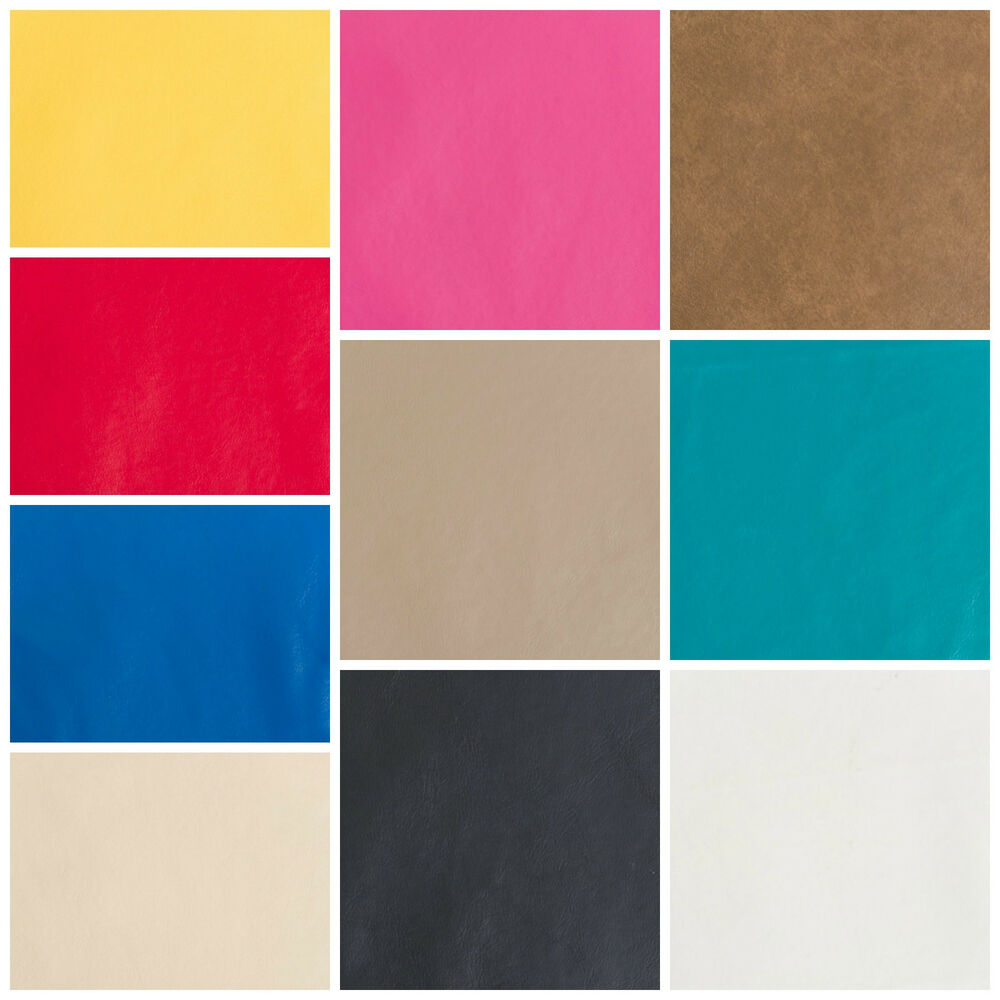 Discount Fabric Faux Leather Upholstery Pleather Vinyl Choose Your Color Ebay