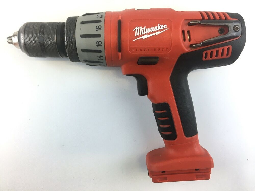 milwaukee model 0724 20 1 2 cordless 28v hammer drill. Black Bedroom Furniture Sets. Home Design Ideas