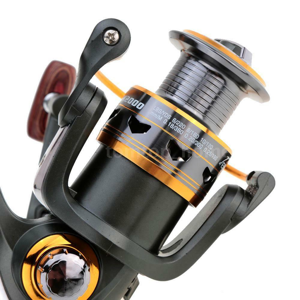 11 bb ball bearings metal spinning reels saltwater fishing for Ebay fishing reels
