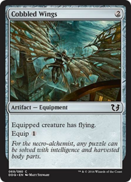 Cobbled Wings NM X4 Artifact Common Blessed Vs Cursed MTG