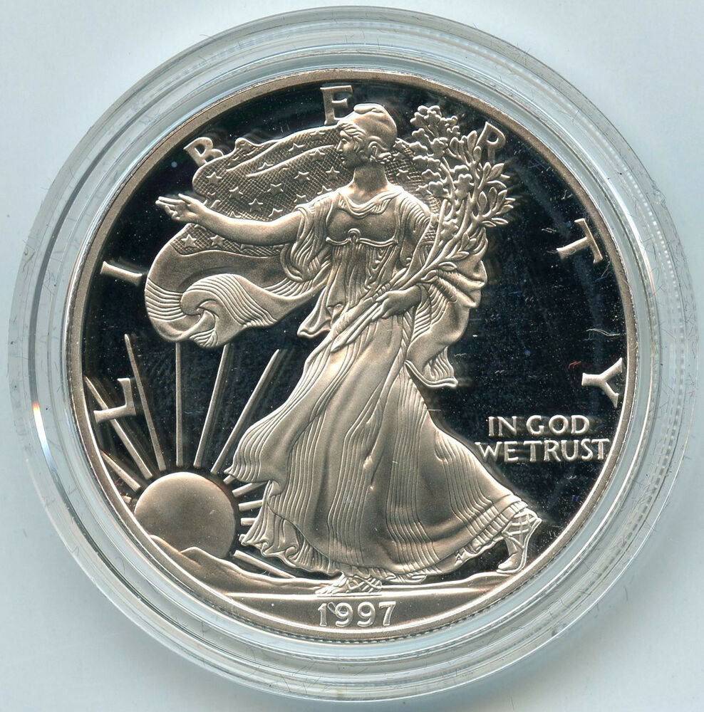 1997 American Eagle One Ounce Proof Silver Coin 1 Oz
