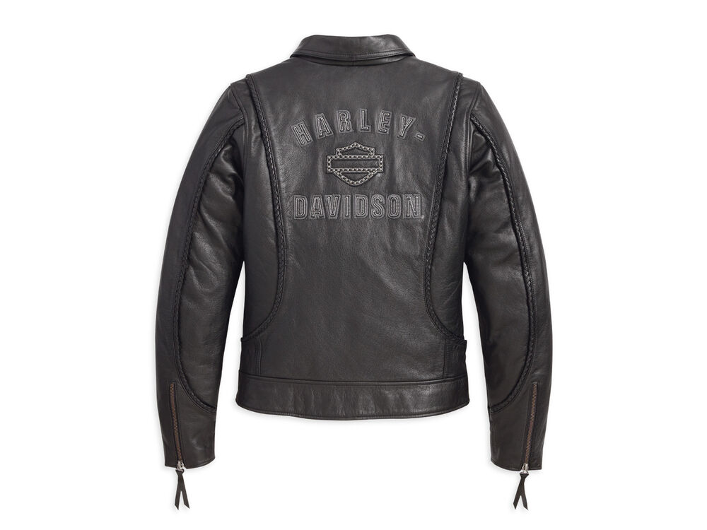 Leather Jacket Harley Davidson Womens