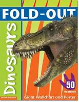 Fold-Out Sticker 11-Dinosaurs Zwemmer,Dominic Paper 9781907604454