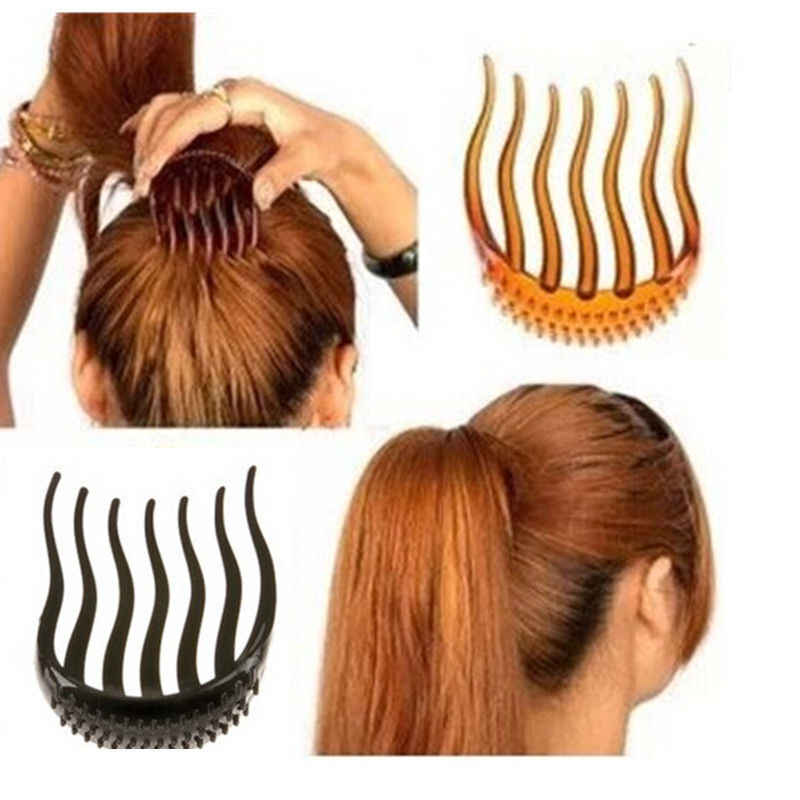 hair comb style fashion hair styling clip stick bun maker braid tool 5025